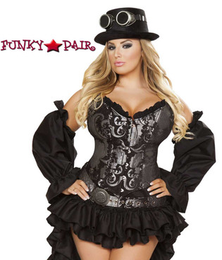 Plus Size SteamPunk Maiden Roma Costume R-4647X