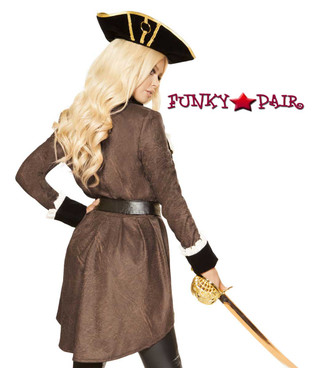 Roma Costume | R-4858, Pirate Boot Diva back view