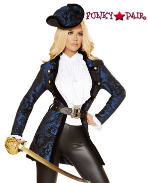 Swashbuckling Pirate Beauty Roma Costume R-4860