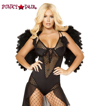 Angel of Darkness Romper Roma Costume | R-4868