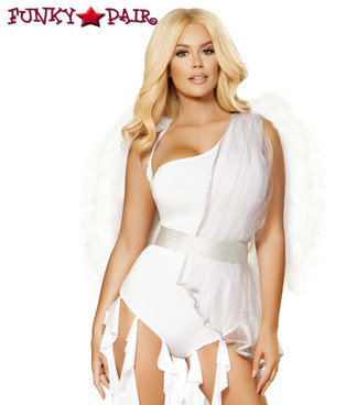 Roma | R-4871, Angel Goddess Romper Costume close up view