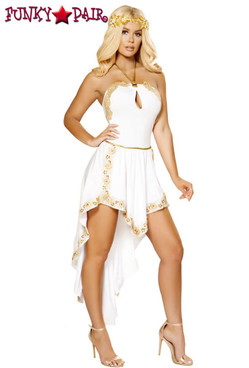 Roma Costume | R-4877, Golden Goddess full view