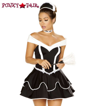 French Maid Roma Costume | R-4886
