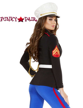 Roma Costume | R-4701, Sexy Marine Corporal back view