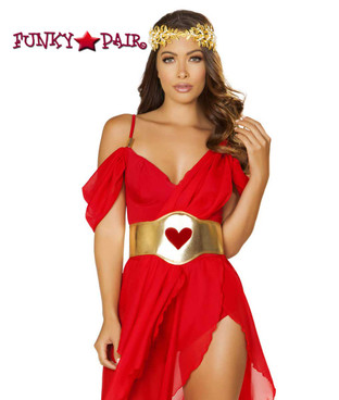 Roma | R-4879, Goddess of Love Romper Costume close up view