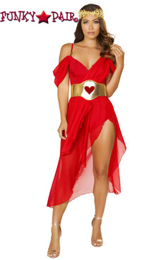 Roma | R-4879, Goddess of Love Romper Costume full front view