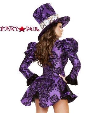 Tea Party Vixen back view Roma Costume | R-4731