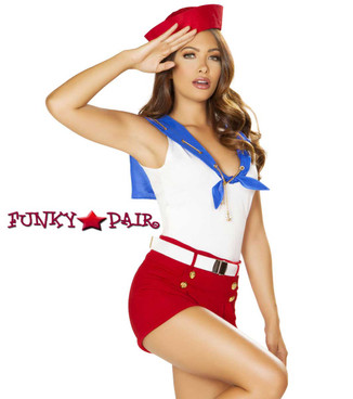 Roma Costume | R-4861, Ahoy Sailor Front side view