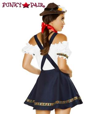 Roma Costume | R-4884, Oktoberfest Bavarian Beauty Back View