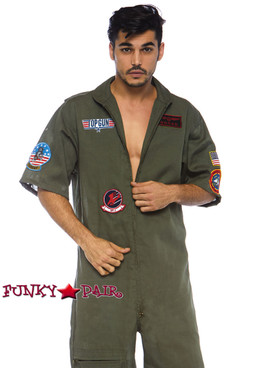 Top Gun Men Flight Suit | Leg Avenue TG86774