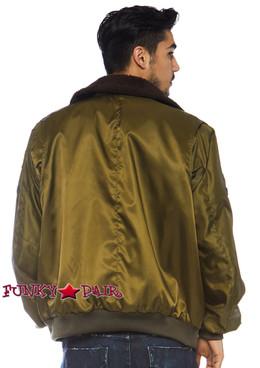 Top Gun Men's Bomber Jacket | Leg Avenue TG86762 back view