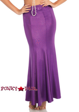 PLus Size Mermaid Skirt | Leg Avenue LA-86771X purple