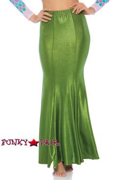PLus Size Mermaid Skirt | Leg Avenue LA-86771X green