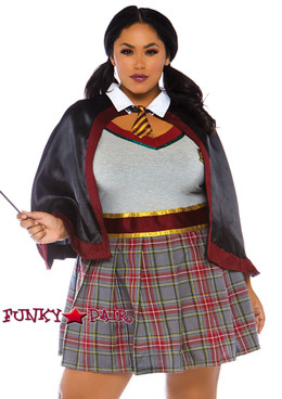 Plus Size Spellbinding School Girl Costume | Leg Avenue LA-86761X