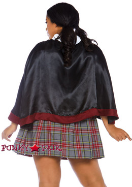 Plus Size Spellbinding School Girl Costume | Leg Avenue LA-86761X back view