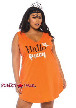 Plus Size Halloqueen Jersey Dress Costume | Leg Avenue LA-86766X