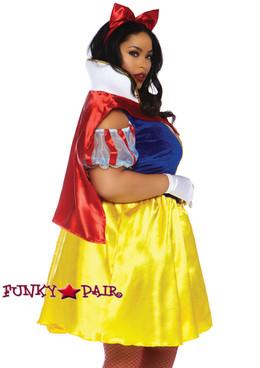 Plus Size Fairytale Snow White | Leg Avenue LA-86765X side view