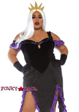 Plus Size Sultry Sea Witch Costume | Leg Avenue LA-86764X