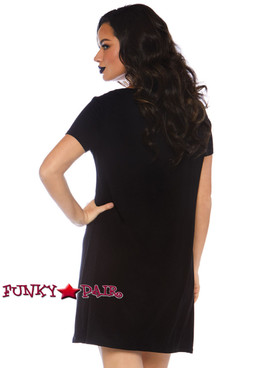 Leg Avenue | LA-86769, Fangtastic Jersey Dress back view