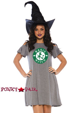 Witch Jersey Dress Costume | Leg Avenue LA-86767