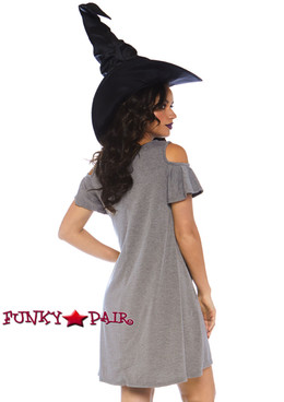 Witch Jersey Dress Costume | Leg Avenue LA-86767 back view