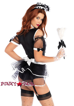 French Maid Costume | Leg Avenue LA-86727