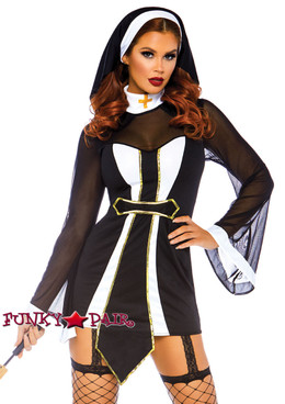 Leg Avenue | LA-86736, Twisted Sister Costume