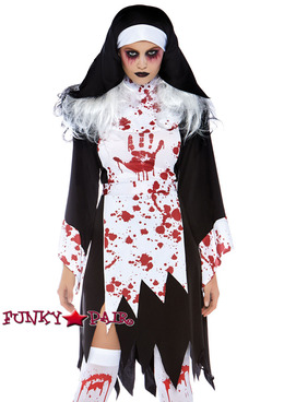 Killer Nun Costume | Leg Avenue LA-86731