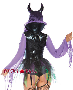 Leg Avenue | LA-86719, Wicked Sorceress Costume back view