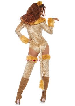 Leg Avenue | LA-86779, Lovely Lioness Costume back view