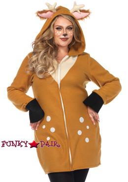 Plus Size Cozy Fawn Women's Costume | Leg Avenue LA-85587X