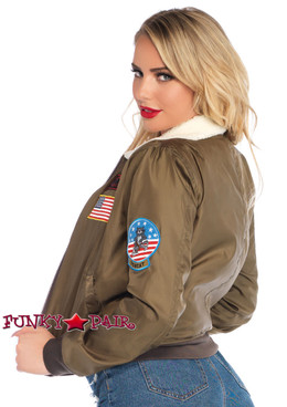 Leg Avenue | TG86735, Top Gun Bomber Jacket back view