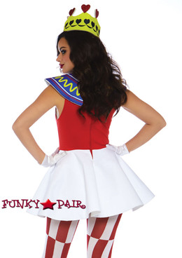 Leg Avenue | LA-86722, Card Queen Costume back view