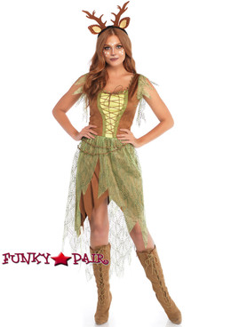 Leg Avenue | LA-86748, Woodland Fawn Costume full view