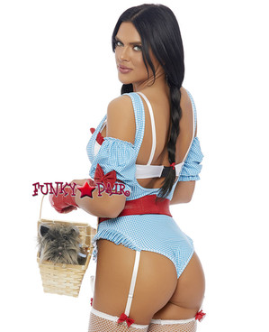 Sexy Dorothy Costume | ForPlay FP-558759 back view