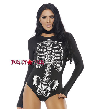 ForPlay | FP-558737, Skeleton Bone BodySuit Costume