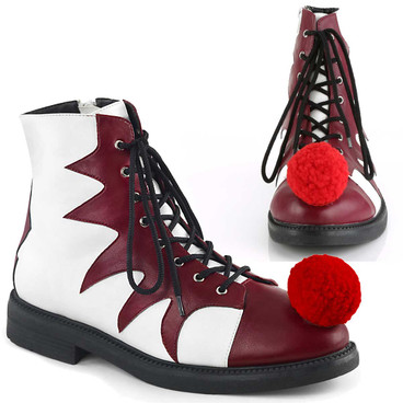 Men's Clown It-100 Shoes | Funtasma Cosplay Shoes
