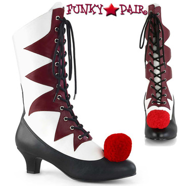 Women's IT-120 Clown Cosplay Boots | Funtasma