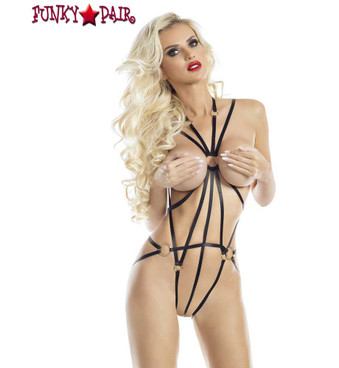 Stardust Cage Harness Rave Wear Lingerie (AB6078) | FunkyPair