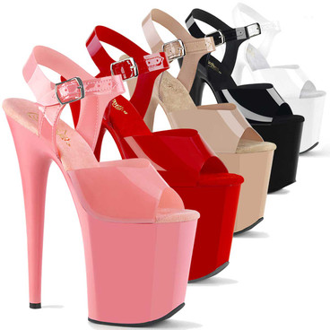 """8"""" Jelly Like Stripper Shoes by Pleaser 