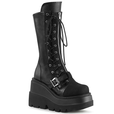 Wedge Mid-Calf Platform Boots Women Demonia SHAKER-71