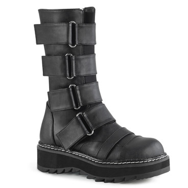 Strap Mid-Calf Boots Demonia LILITH-211