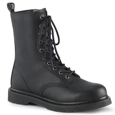 Men's Demonia | BOLT-200, Mid-Calf Lace-up Combat Boots