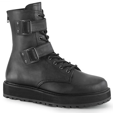 Men's VALOR-250, Lace-up Ankle Boots by Demonia