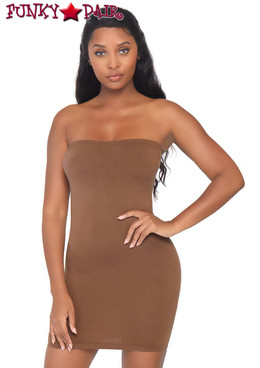 Leg Avenue | NK002, Seamless Tube Dress color Tan