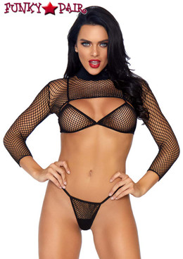 Leg Avenue | LA81583, 3pc Net Bikini Set
