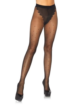 Polka Dot Pantyhose Leg Avenue LA-7934