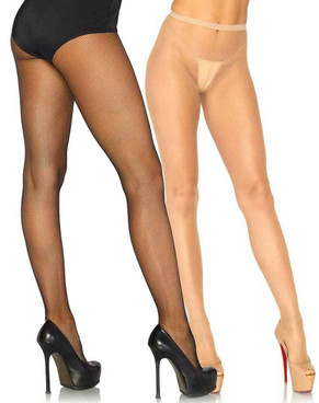 Spandex Micro Net Tights by Leg Avenue LA-9110