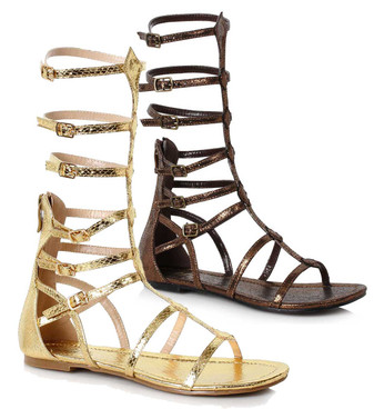 Women Flat Mid Calf Gladiator Sandal Ellie Shoes | 015-Zena