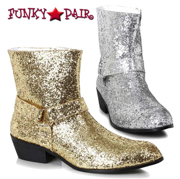 Ellie Shoes 129-Fever Men's Glitter Boots